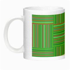 Geometric Pinstripes Shapes Hues Night Luminous Mugs