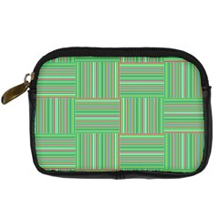 Geometric Pinstripes Shapes Hues Digital Camera Cases
