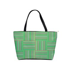 Geometric Pinstripes Shapes Hues Shoulder Handbags