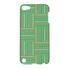 Geometric Pinstripes Shapes Hues Apple Ipod Touch 5 Hardshell Case