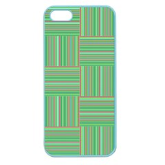 Geometric Pinstripes Shapes Hues Apple Seamless iPhone 5 Case (Color)