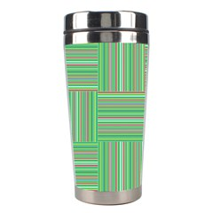 Geometric Pinstripes Shapes Hues Stainless Steel Travel Tumblers