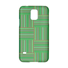 Geometric Pinstripes Shapes Hues Samsung Galaxy S5 Hardshell Case