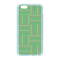 Geometric Pinstripes Shapes Hues Apple Seamless iPhone 6/6S Case (Color)