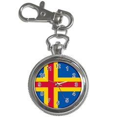 Flag of Aland Key Chain Watches