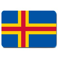 Flag of Aland Large Doormat