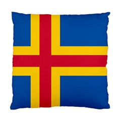 Flag of Aland Standard Cushion Case (Two Sides)