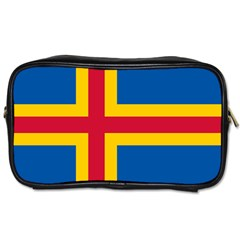 Flag of Aland Toiletries Bags 2-Side