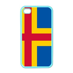 Flag of Aland Apple iPhone 4 Case (Color)