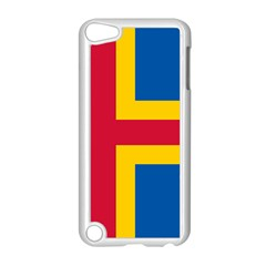 Flag of Aland Apple iPod Touch 5 Case (White)