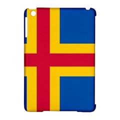 Flag of Aland Apple iPad Mini Hardshell Case (Compatible with Smart Cover)