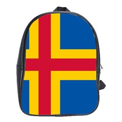 Flag of Aland School Bags (XL)