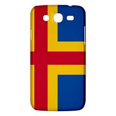 Flag of Aland Samsung Galaxy Mega 5.8 I9152 Hardshell Case