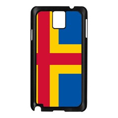 Flag of Aland Samsung Galaxy Note 3 N9005 Case (Black)