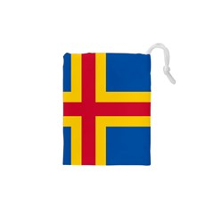 Flag of Aland Drawstring Pouches (XS)