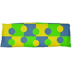 Abric Cotton Bright Blue Lime Body Pillow Case (Dakimakura)