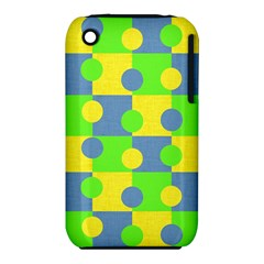 Abric Cotton Bright Blue Lime iPhone 3S/3GS