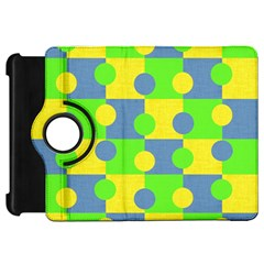 Abric Cotton Bright Blue Lime Kindle Fire HD 7