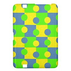 Abric Cotton Bright Blue Lime Kindle Fire HD 8.9