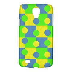 Abric Cotton Bright Blue Lime Galaxy S4 Active