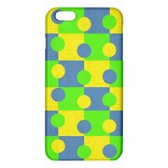 Abric Cotton Bright Blue Lime iPhone 6 Plus/6S Plus TPU Case