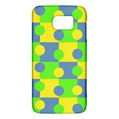 Abric Cotton Bright Blue Lime Galaxy S6