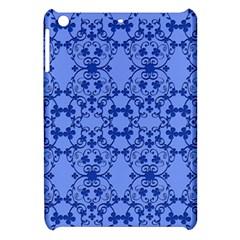Floral Ornament Baby Boy Design Retro Pattern Apple iPad Mini Hardshell Case