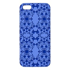 Floral Ornament Baby Boy Design Retro Pattern Apple iPhone 5 Premium Hardshell Case