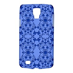 Floral Ornament Baby Boy Design Retro Pattern Galaxy S4 Active