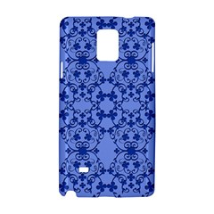 Floral Ornament Baby Boy Design Retro Pattern Samsung Galaxy Note 4 Hardshell Case