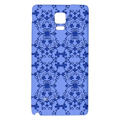 Floral Ornament Baby Boy Design Retro Pattern Galaxy Note 4 Back Case