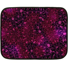 Retro Flower Pattern Design Batik Fleece Blanket (Mini)