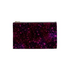 Retro Flower Pattern Design Batik Cosmetic Bag (small)