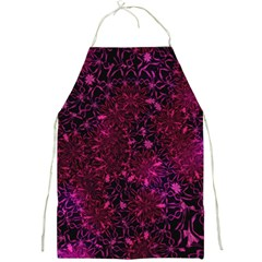 Retro Flower Pattern Design Batik Full Print Aprons