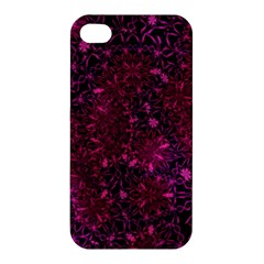 Retro Flower Pattern Design Batik Apple Iphone 4/4s Hardshell Case