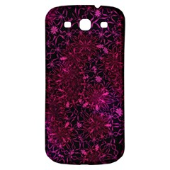 Retro Flower Pattern Design Batik Samsung Galaxy S3 S III Classic Hardshell Back Case