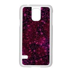 Retro Flower Pattern Design Batik Samsung Galaxy S5 Case (White)