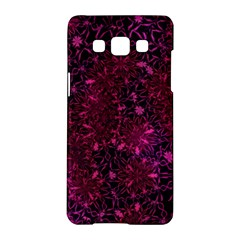 Retro Flower Pattern Design Batik Samsung Galaxy A5 Hardshell Case