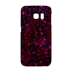 Retro Flower Pattern Design Batik Galaxy S6 Edge