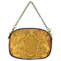 Vintage Scrapbook Old Ancient Retro Pattern Chain Purses (two Sides)