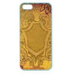 Vintage Scrapbook Old Ancient Retro Pattern Apple Seamless iPhone 5 Case (Color)