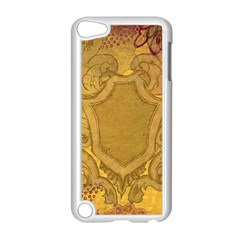 Vintage Scrapbook Old Ancient Retro Pattern Apple iPod Touch 5 Case (White)