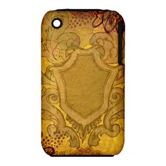 Vintage Scrapbook Old Ancient Retro Pattern iPhone 3S/3GS