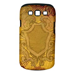 Vintage Scrapbook Old Ancient Retro Pattern Samsung Galaxy S III Classic Hardshell Case (PC+Silicone)