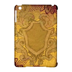 Vintage Scrapbook Old Ancient Retro Pattern Apple Ipad Mini Hardshell Case (compatible With Smart Cover)