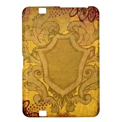 Vintage Scrapbook Old Ancient Retro Pattern Kindle Fire HD 8.9