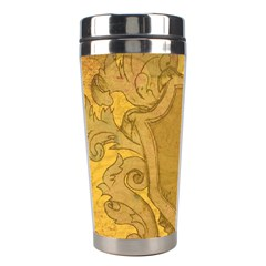 Vintage Scrapbook Old Ancient Retro Pattern Stainless Steel Travel Tumblers