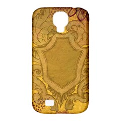 Vintage Scrapbook Old Ancient Retro Pattern Samsung Galaxy S4 Classic Hardshell Case (pc+silicone)