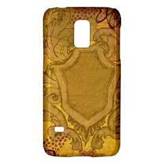 Vintage Scrapbook Old Ancient Retro Pattern Galaxy S5 Mini