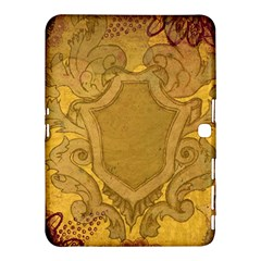 Vintage Scrapbook Old Ancient Retro Pattern Samsung Galaxy Tab 4 (10.1 ) Hardshell Case